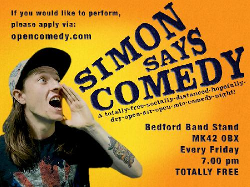 Simon Says @ Bedford Bandstand