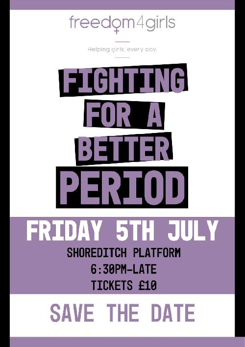 Open Mic Night to Fight Against Period Poverty