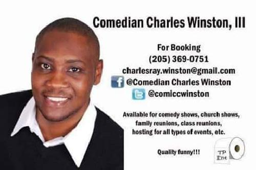 Comedian Charles Winston