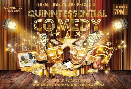 Quinntessential Comedy 1st Birthday!