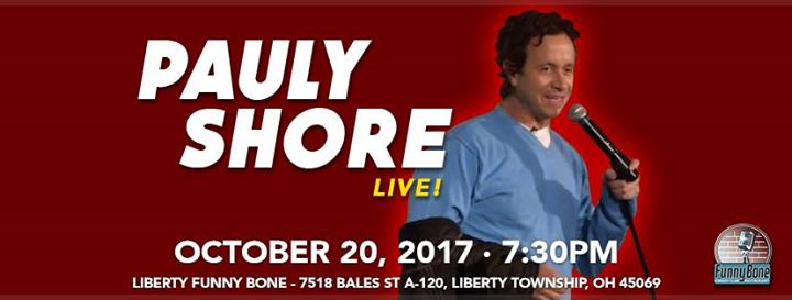Pauly Shore in Liberty Township, OH