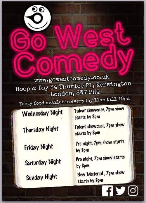 Go West Comedy