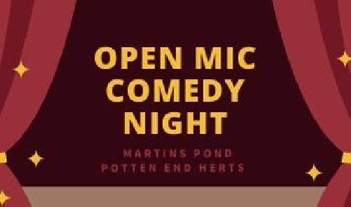 Comedy Night @ Martins Pond
