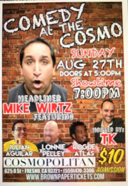 Comedy at the Cosmo
