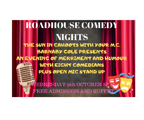 THE ROAD HOUSE COMEDY NIGHT