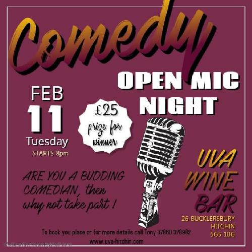 Comedy Open Mike Night