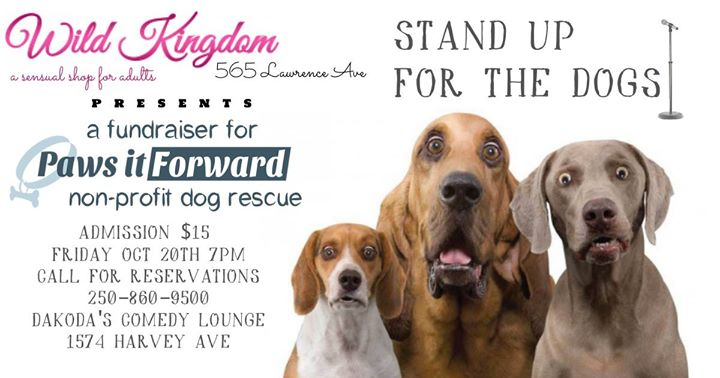 Wild Kingdom presents Stand Up for the Dogs